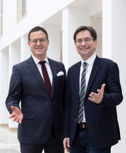 Wolfgang Herzog und Prof. Dr. Manuel Strunz - Marketingclub Regensburg